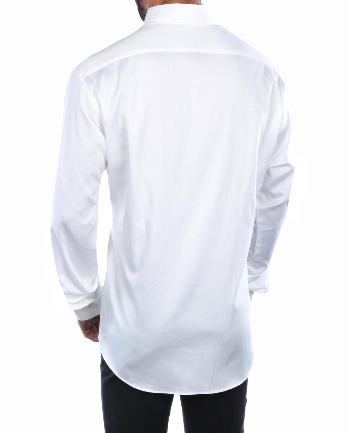 Geoffrey Beene Fitted Sateen Shirts Summer Cook