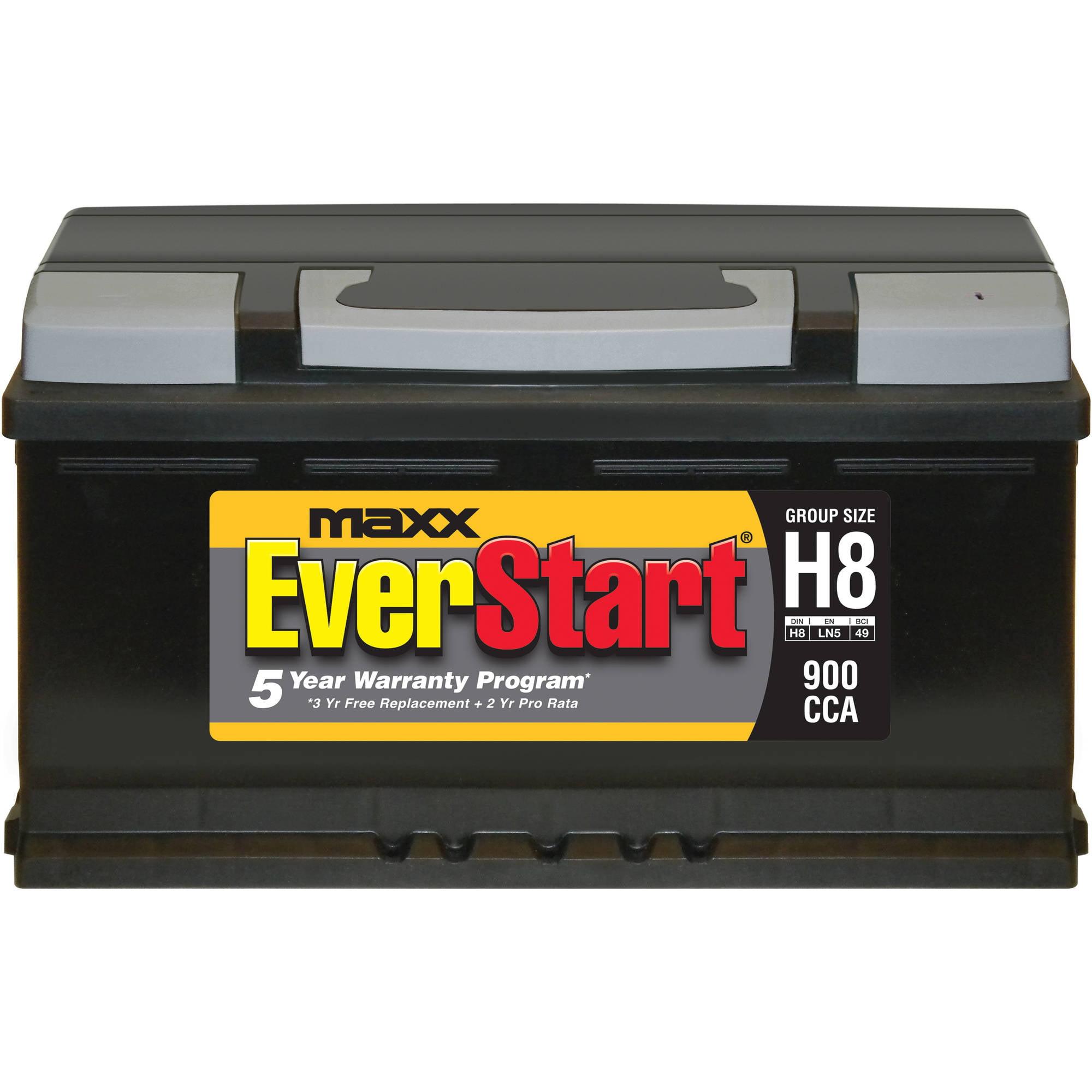 EverStart Maxx Lead Acid Automotive Battery Group Size H8