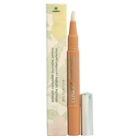 Airbrush Concealer - # 02 Medium by Clinique for Women - 0.05 oz Concealer