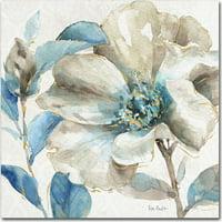 "Trademark Fine Art ""Indigold IV"" Canvas Art by Lisa Audit"
