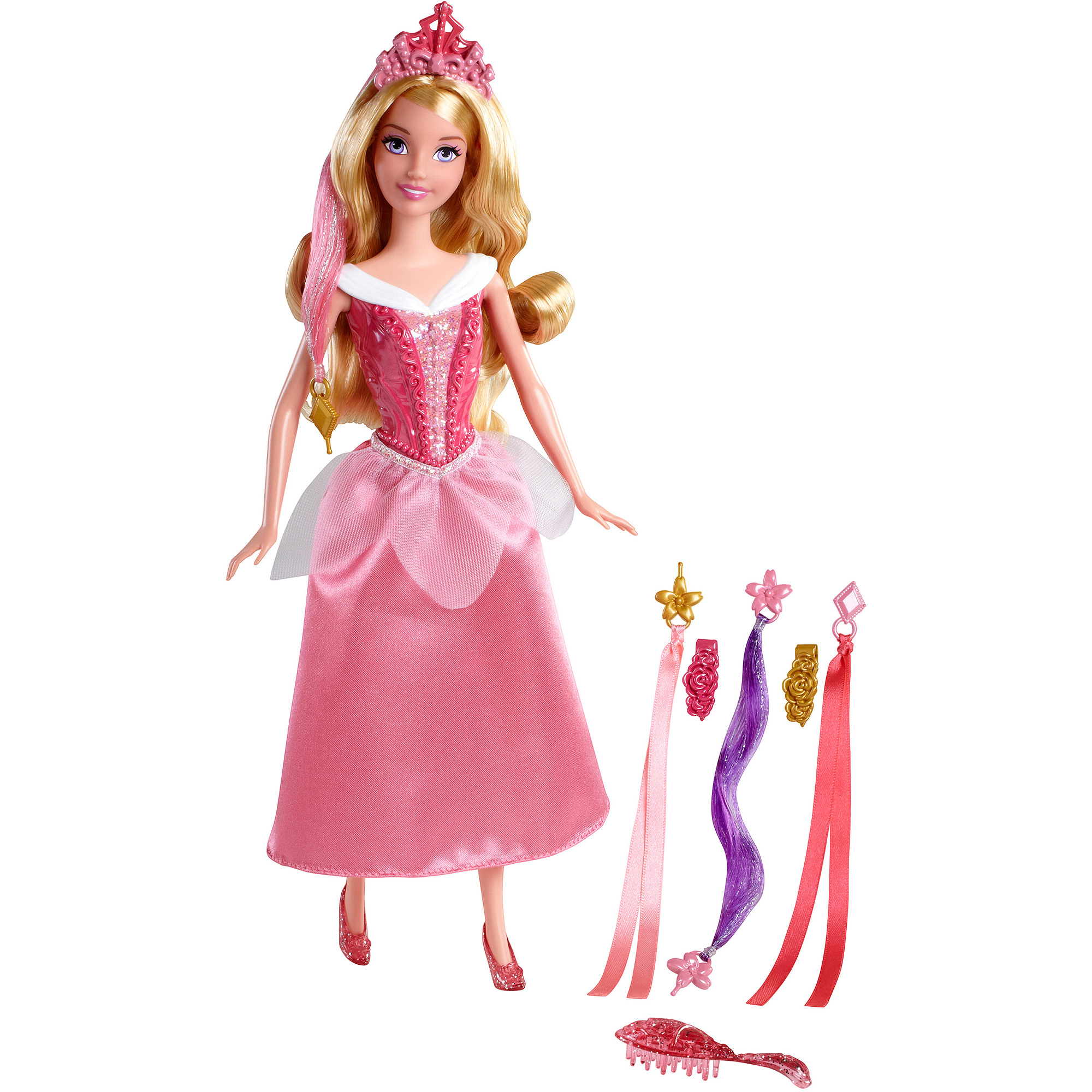Disney Basic Hairplay Sleeping Beauty Doll by CHANG AN MATTEL TOYS 2ND FACTORY