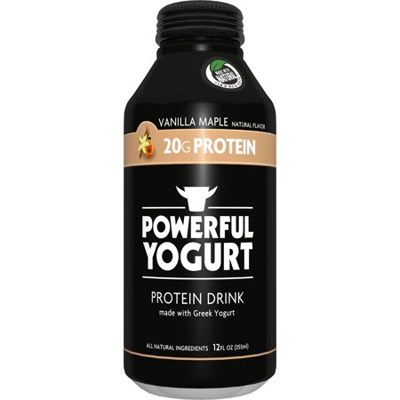 Powerful Yogurt Vanilla Greek Yogurt Protein Drink 12 oz