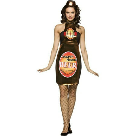 Adult Sexy Beer Bottle Costume (Bottle Costume)