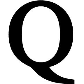 Letter Q Black METAL 12 Inch Wrought Iron Signage Home Wall Art Plaque Name Sign Decoration