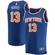 Marcus Morris New York Knicks Fanatics Branded Fast Break Player Replica Jersey - Icon Edition - Blue