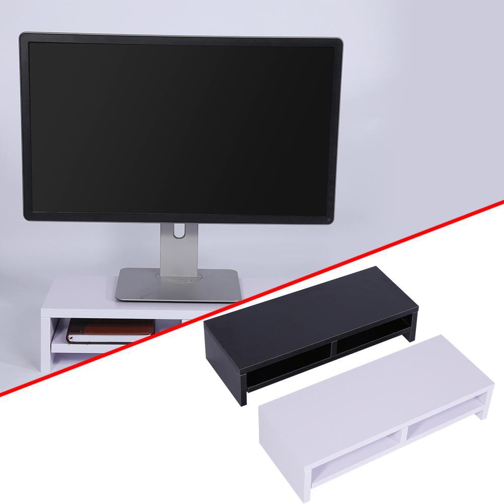 Wooden Desktop Monitor Stand Lcd Tv Laptop Rack Computer Screen