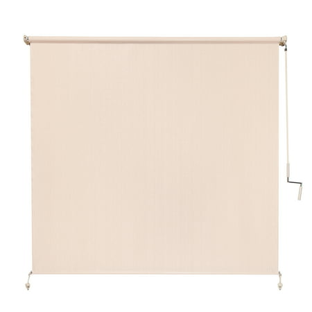 Coolaroo Wand Operation Outdoor Roller Shade in 95% UV Block