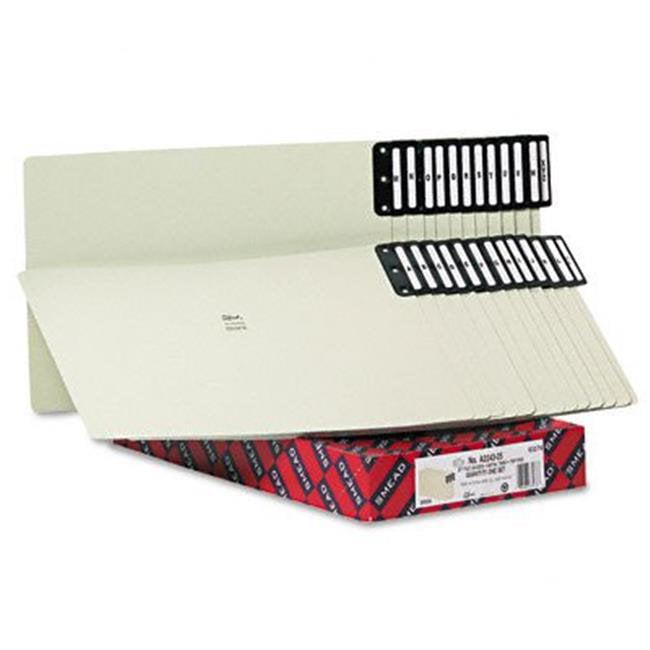 Smead 63276 End Tab Guides  Alpha  Vertical Metal Tabs  Pressboard  Legal  25/Box