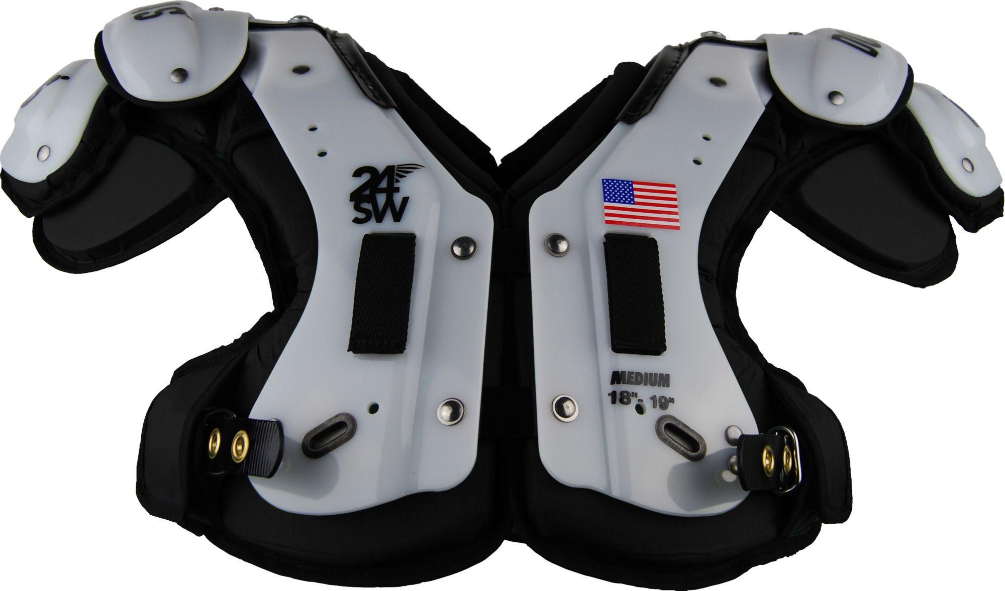 Douglas Adult 24SW Flat Skill Position Shoulder Pads Black XXL - Walmart.com e74d1facb