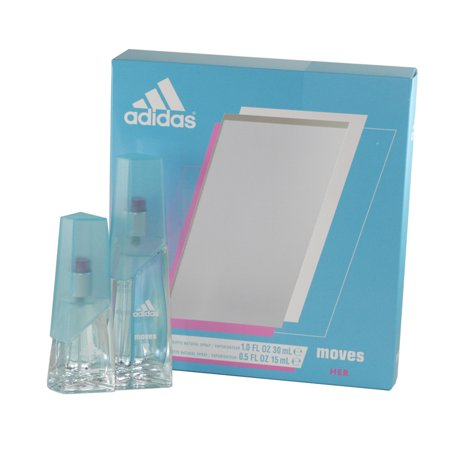 Adidas Moves 2 Pc. Gift Set ( Eau De Toilette Spray 1.0 Oz + Eau De Toilette Spray 0.5 Oz / 15 Ml ) (Adidas Modelle)