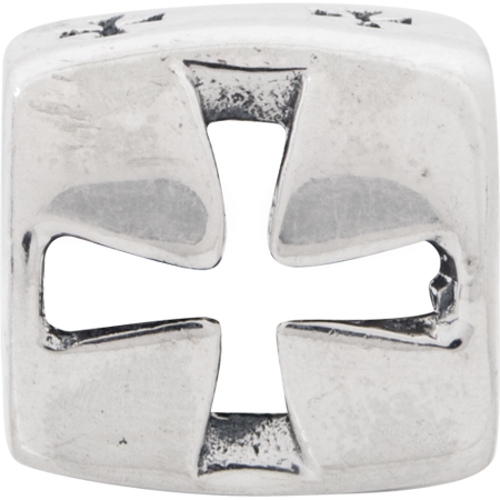 925 Sterling Silver Charm For Bracelet Maltese Cross Religious Bead Fine Jewelry For Women Gifts For Her - image 7 de 8