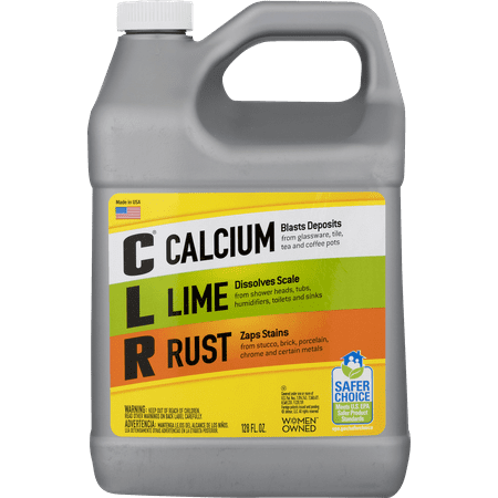 Degreaser 1 Gallon Bottle - CLR Calcium Lime & Rust Remover, Biodegradable 1 Gallon Bottle, 128 Oz