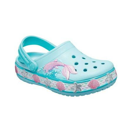 Crocs Girls' Child Mermaid Fun Lab Clog (Ages - Mermaid Shoes