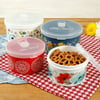 The Pioneer Woman Flea Market Round Food Containers, Set of 4