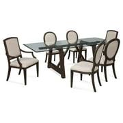Bassett Mirror 7 Piece Marlette Dining Table Set