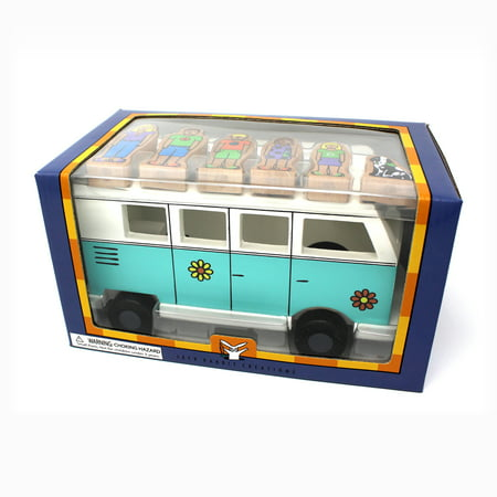 Jack Rabbit Creations Magnetic Wooden Love Bus Set