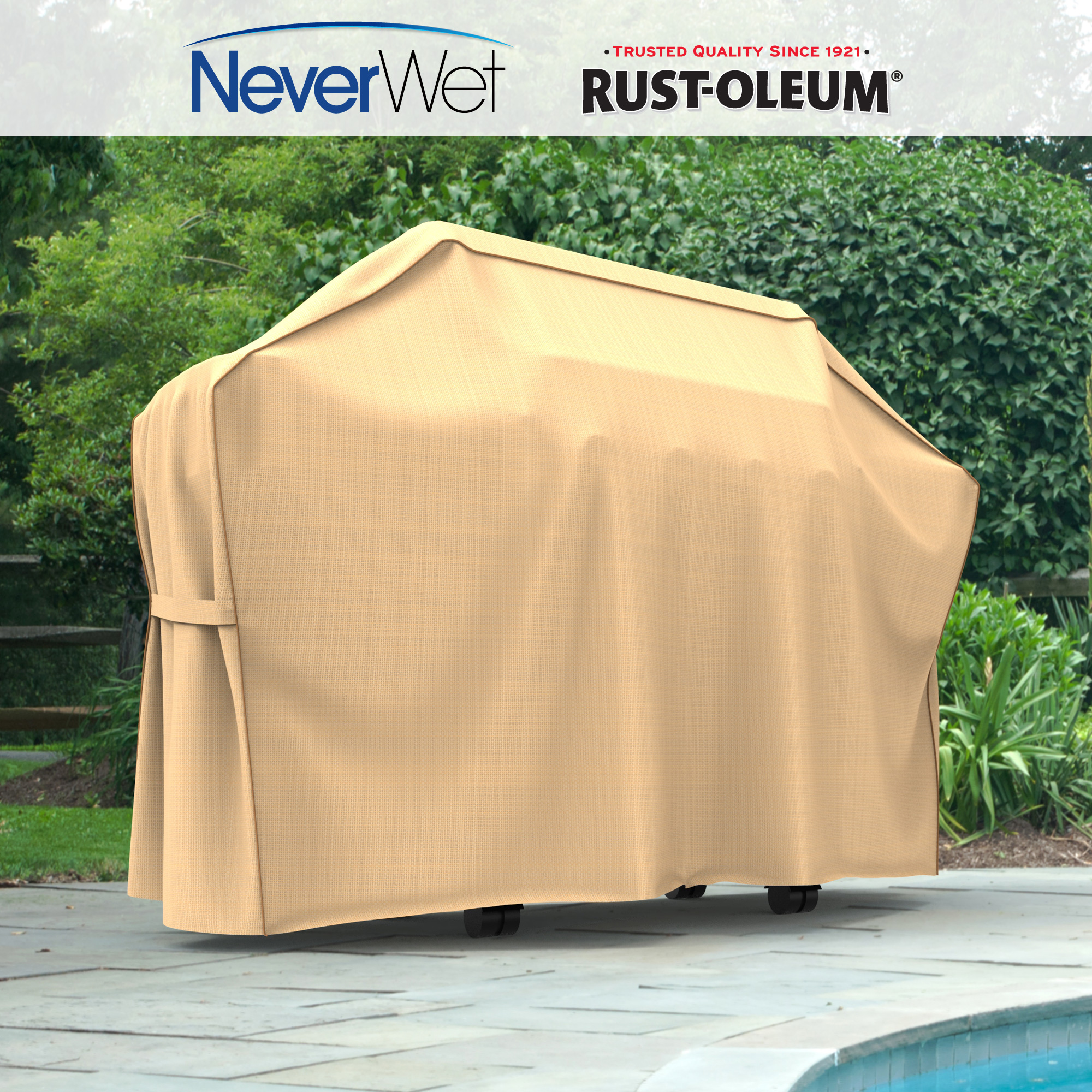 Rust-Oleum NeverWet Grill Covers | Waterproof | Breathable - Walmart.com & Rust-Oleum NeverWet Grill Covers | Waterproof | Breathable ...
