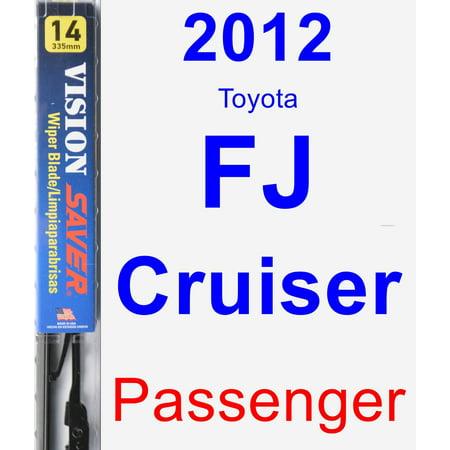 2012 Toyota FJ Cruiser Passenger Wiper Blade - Vision