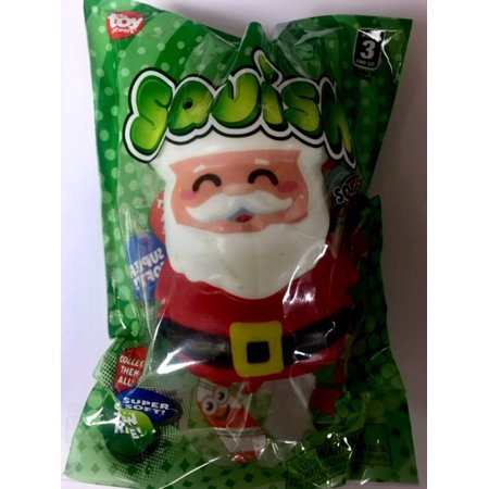 Cp Slow Rising Squishies Cute Santa Claus Christmas Toy Extra Soft Relieve Stress 3.5