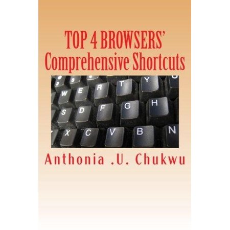 Top 4 Browsers Comprehensive Shortcuts