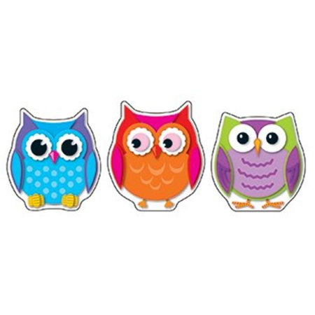Colorful Owls Cut Outs 36Ct (Bat Cut Outs)
