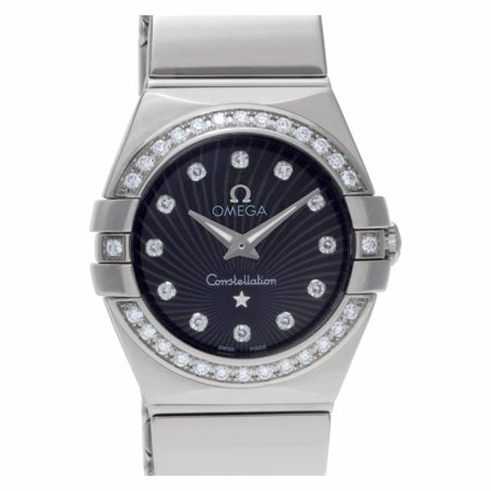 Pre-Owned Omega Constellation 123.15.2 Steel Women Watch (Certified Authentic & Warranty)