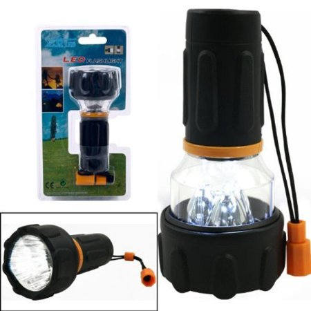 Happy Camper 3 LED Flashlight and Lantern Combo Bright & Powerful Gear Aid Camper