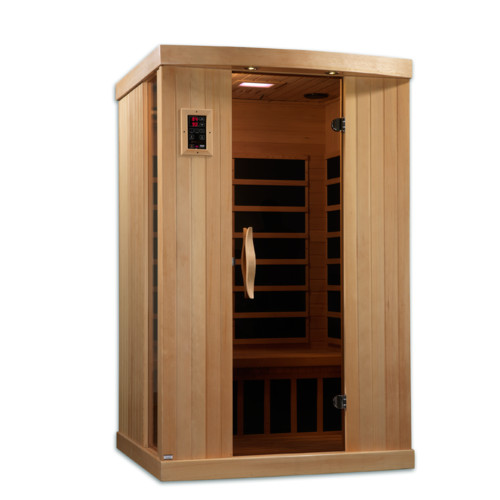 Dynamic Infrared Puretech Low EMF 2 Person IR Carbon FAR Infrared Sauna by Golden Designs