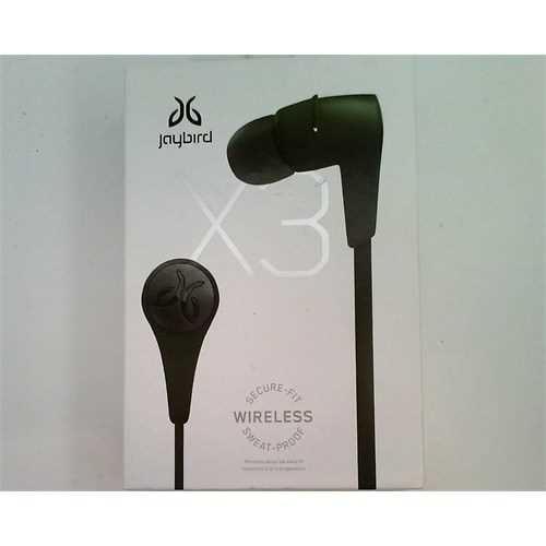 Jaybird 985-000584 X3 Sport Bluetooth Earbuds, Alpha