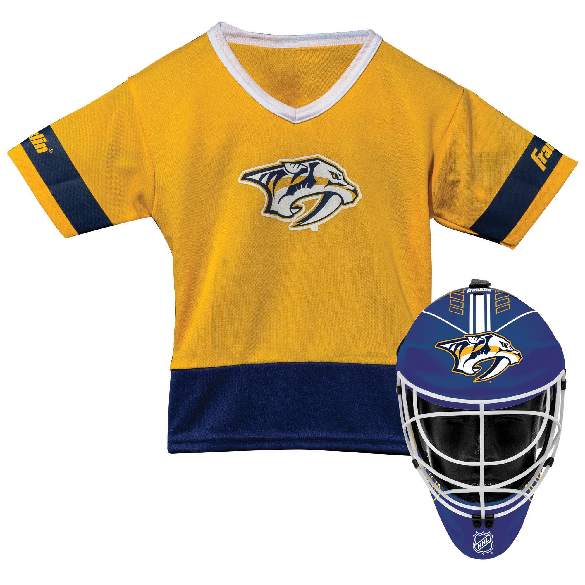 Franklin Sports NHL Nashville Predators Youth Team Uniform Set
