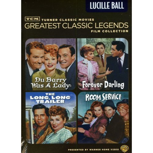 TCM Greatest Classic Films: Legends - Lucille Ball - The Long, Long Trailer / Forever Darling / Room Service / Du Barry Was A Lady