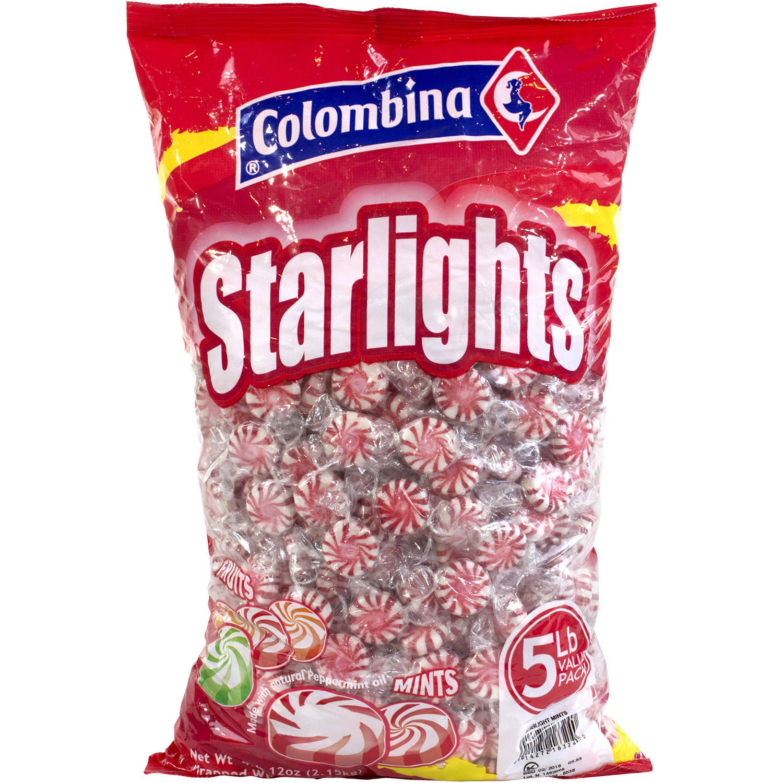 Colombina Pinwheel Starlight Mints, 5 lbs by