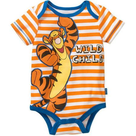 Winnie the Pooh Newborn Baby Boys' Tigger Bodysuit