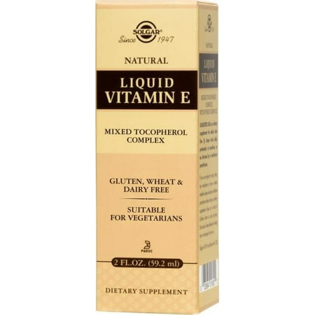 Solgar Liquid Vitamin E (with dropper), 2 Fl Oz (Best Vg E Liquid)