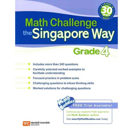 Singapore Math Challenge : Grade 4
