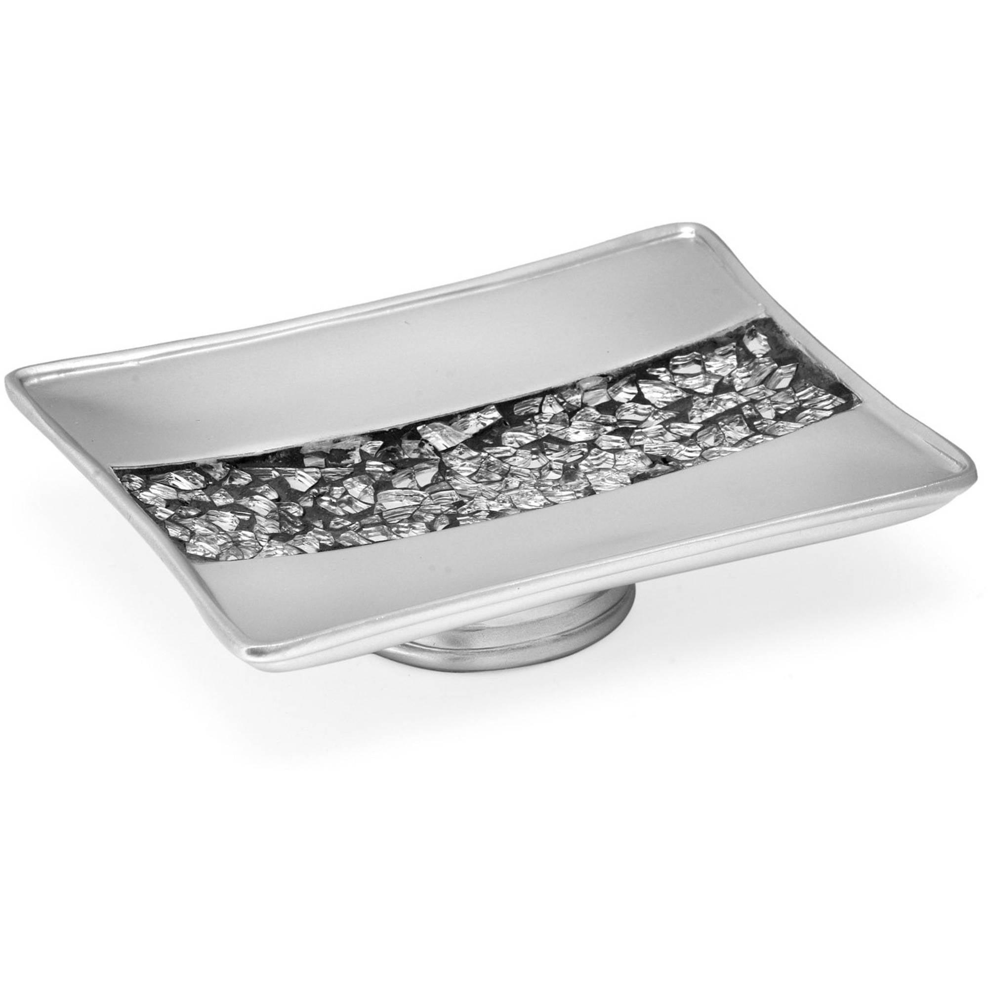 Popular Bath Sinatra Silver Collection Bathroom Sink Soap