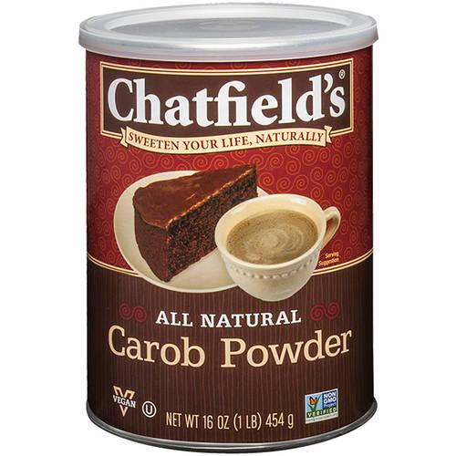 Chatfield's All Natural Carob Powder, 16 oz (Pack of 6)