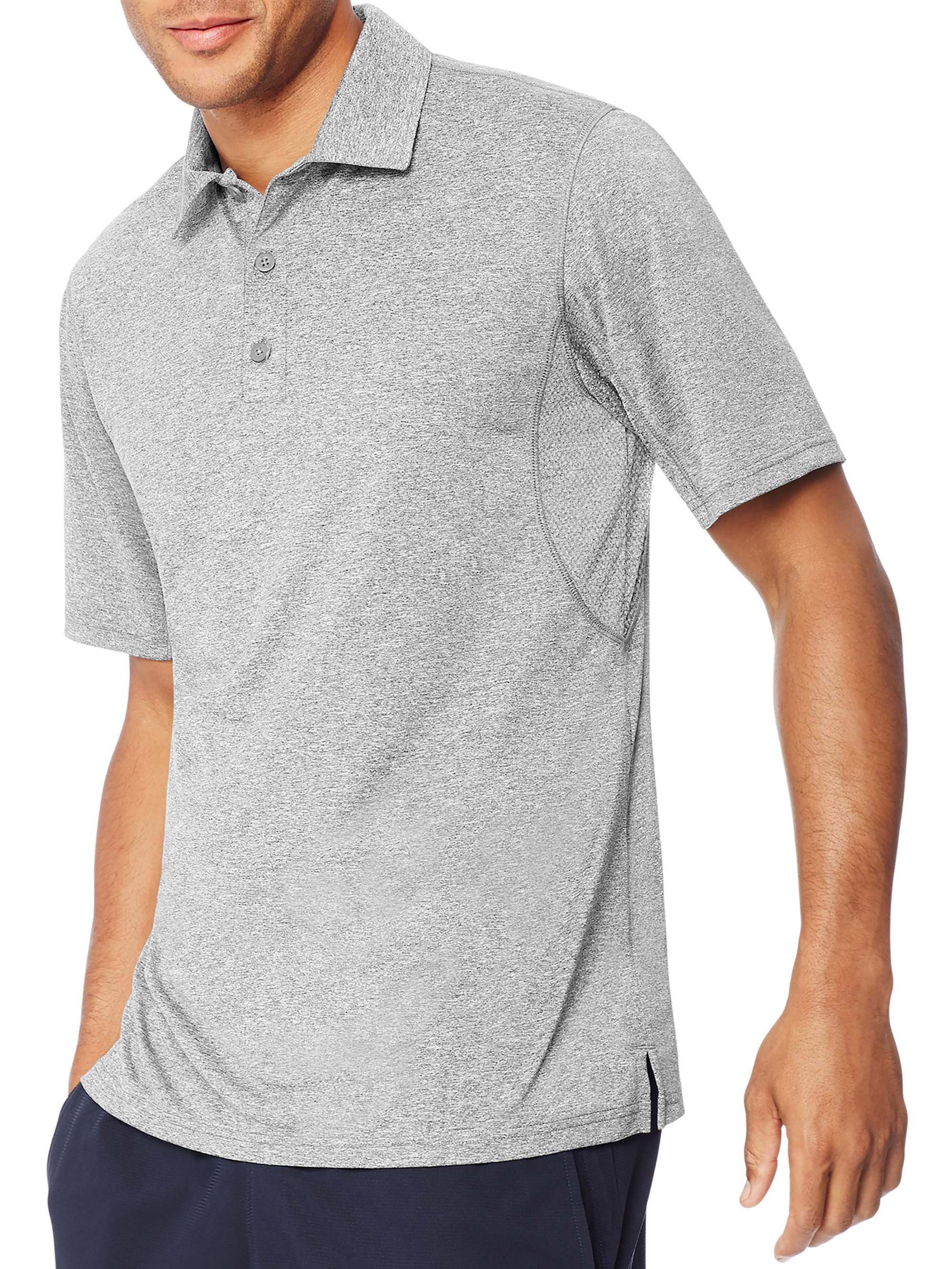 Hanes Mens Short Sleeve Polo Shirt