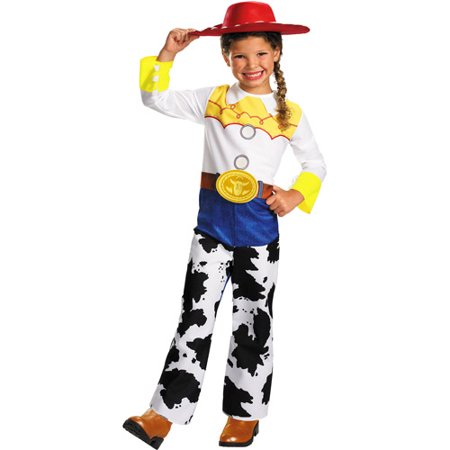 Toy Story Woody Dress Up (Girl's Jessie Classic Toddler Halloween Costume - Toy)