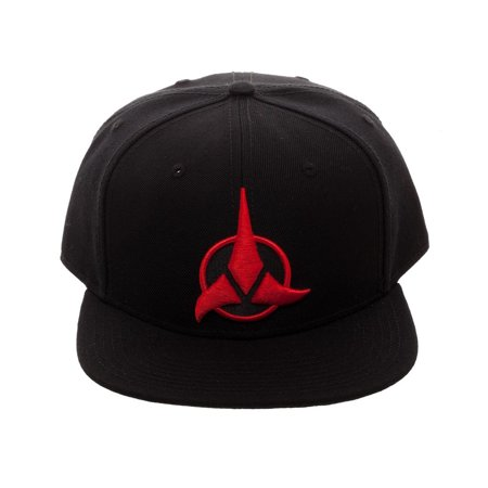 Bioworld Licensed Star Trek - Klingon - Acrylic Black Snapback Hat - image 4 de 4
