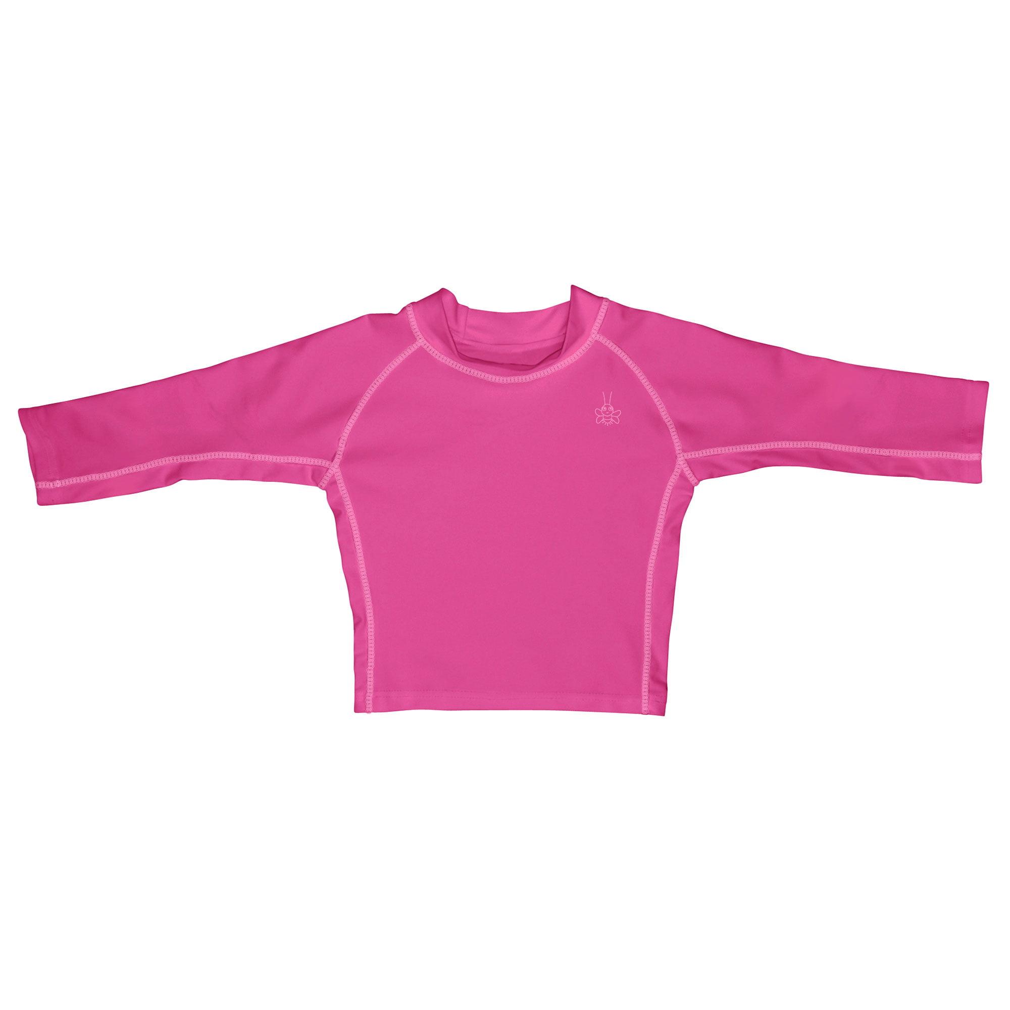 Iplay Long Sleeve Rashguard Top, Swim Shirt or Sun Shirt for Best Sun Protection Rash Guard UPF 50+ Solid Color T-Shirt... by