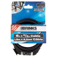 Brinks High Security 6 ft x 3/8 in Cable