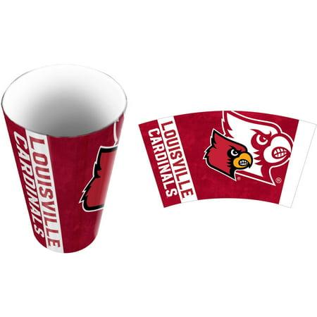 Louisville Beverage (NCAA Louisville Cardinals Bathroom Tumbler, 1 Each)