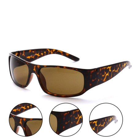 MLC Eyewear Sporty Square Framed Sunglasses UV400 - Walmart.com
