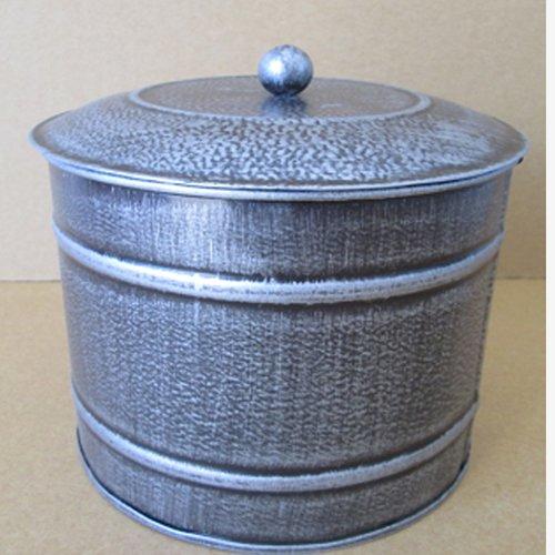 craft outlet tin kitchen canister set of 2 walmart com