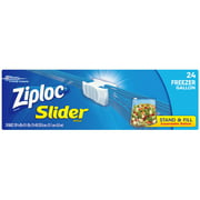 Ziploc Slider Freezer Bags Gallon 24 count