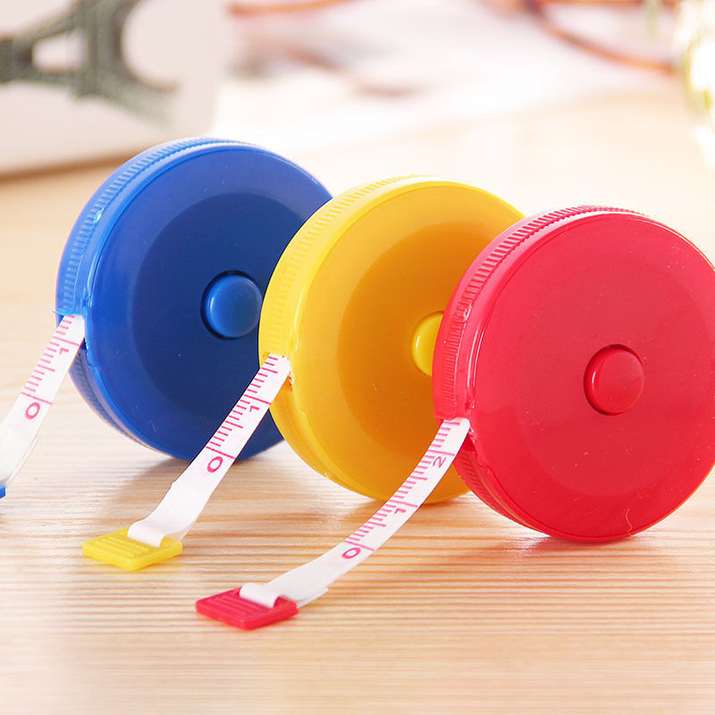 1PC Retractable Tape Measure Sewing Dieting Tapeline Ruler Tiny Tool