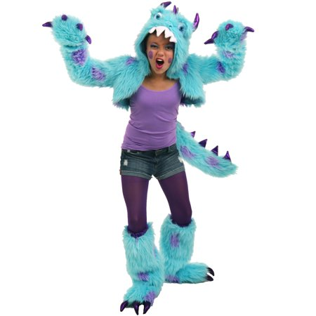 Princess Paradise Premium Sullivan the Monster Shrug Set Tween - James P Sullivan Costume