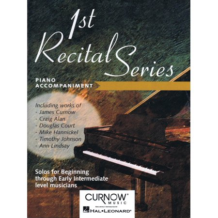 Instruments Curnow Play Along Book - Curnow Music First Recital Series (Piano Accompaniment for Bb Tenor Saxophone) Curnow Play-Along Book Series