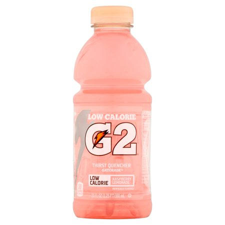 Gatorade   G2   G Series   Perform Raspberry Lemonade Low Calorie Sports Drink 20 Fl  Oz  Bottle
